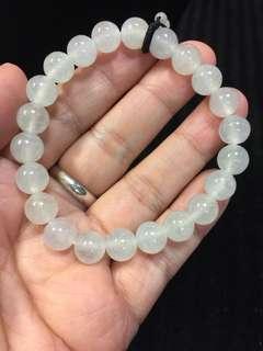 🚚 《甄藏》泛光玻璃種手珠