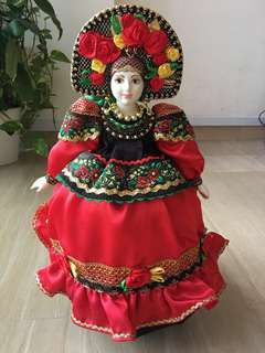 BN Russian traditional doll