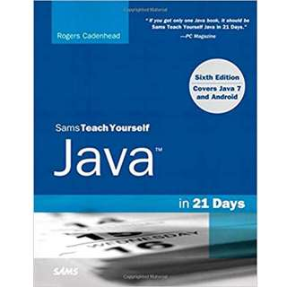 Sam's Teach Yourself Java in 21 Days (Covering Java 7 and Android) (516 Page Mega eBook)