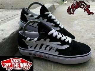 Sepatu Vans Patta Made in USA-Vietnam Waffle IFC