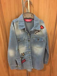 [PL] jeans jacket size 3_4Y from primark london