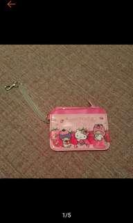 🚚 1元加購 全新 Hello Kitty 證件套 附零錢包