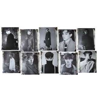 EXO Exodus Album Member Personal Poster 專輯成員個人海報 直版 Straight version 61x92cm
