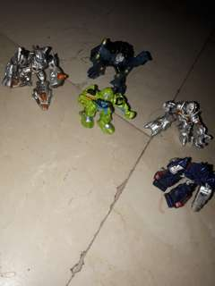 Mini transformers by hasbro