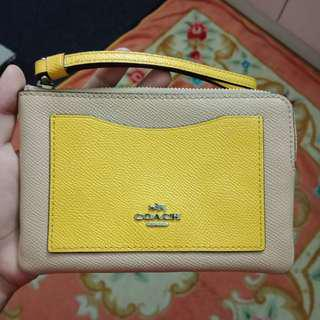 Coach wristlet/purse/wallet