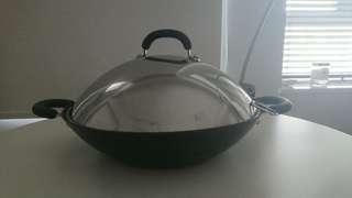CIRCULON Wok 36cm with original lid