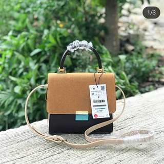TAS ZRA MINI CITY COKELAT