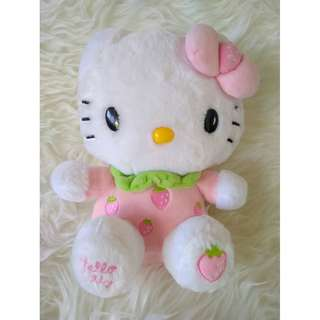 Sanrio Pink Fruit Strawberry Hello Kitty Original