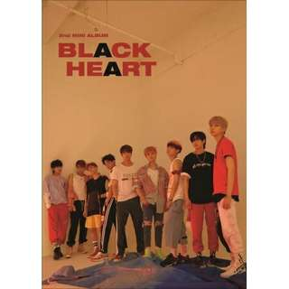 [PREORDER] UNB 2ND MINI ALBUM - BLACK HEART