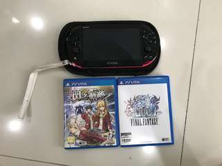 Ps Vita with 2 games(can nego)