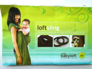 Preloved Baby Loft Cloth Sling - in excellent condition