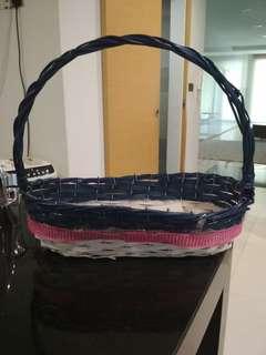 Cane basket $3