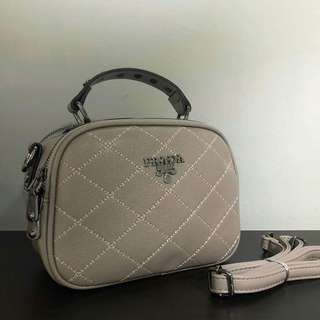 Prada Sling Bag Khaki Color
