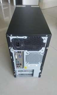 Desktop with licence
