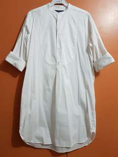 Ralph Lauren White Tunic Long Sleeves