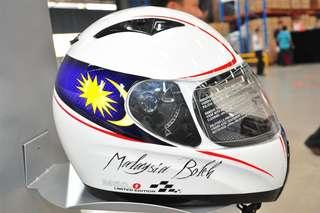 Fullface Helmet Givi M50.0 Malaysia Boleh Edition