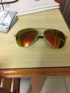 韓國紅綠夕陽色太陽眼鏡