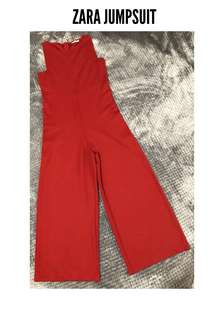 ZARA Wide Leg Jumpsuit