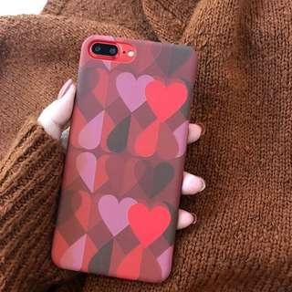 🌼C-1182 Heart Hard Case🌼