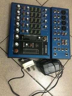 yamaha mg82fx mixer