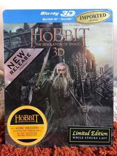 🚚 The Hobbit: The Desolation of Smaug (Blu-ray + 3D)