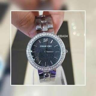 Lady Watch Crystal Frame Bracelet Strap No Box