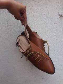 Zalora Half oxford boots
