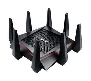 Ac5300 ASUS 電競路由器 router 2.4+5.8+5.8 三頻