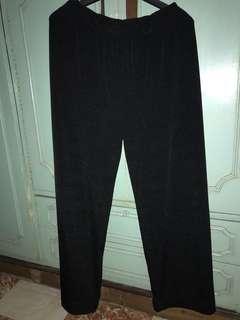 black pants (soft & light fabric)