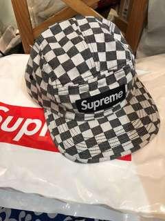 Supreme camp cap checker