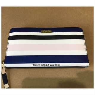 💯 Authentic Kate Spade Neda Laurel Way Printed Cruisestrp Wallet / P4000