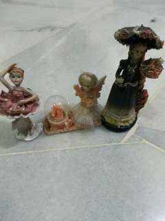 Decorative Item Ceramic Dolls
