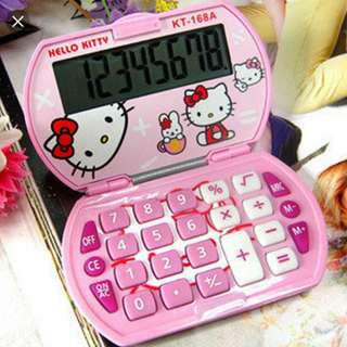 Hello Kitty Calculator KT -168A