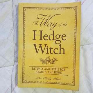 WAY OF THE HEDGE WITCH BOOK