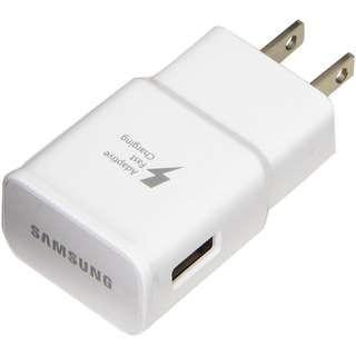 Samsung原廠快充火牛旅充頭Adaptive Fast Charging 9V-1.67A/5V 2A充電器EP-TA20JWS, 適合:A8+(2018), S8+, S7 edge,S6, Note 5, Note Edge