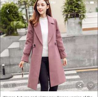 Coat (Repriced From 1,200-1,000) RUSH!