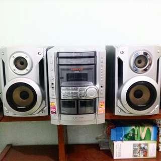 Speaker mp3 Panasonic CD Stereo System SA-VK540