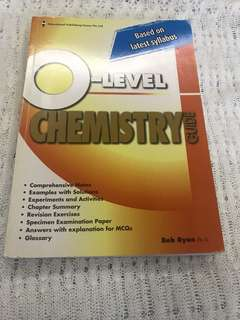 O-level chemistry guide assessment book