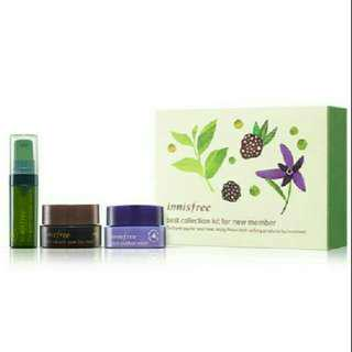 Innisfree best collection trial kit