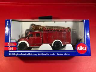 Siku 4115 Auxiliary Fire Engine