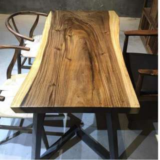 TSAW 008 GSS Offer South American Walnut Solid Wood Table