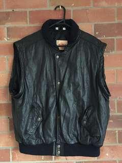 Genuine vintage Hard Rock Cafe leather vest