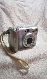 Vintage Canon PowerShot A530 Camera