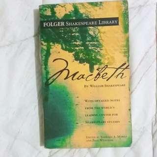 MACBETH - FOLGER SHAKESPEARE LIBRARY