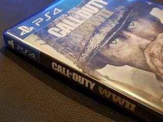 Call of Duty WWII World War 2 (PS4 Game, include Poslaju)