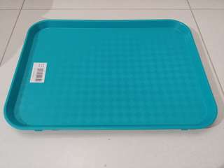 Serving tray-green