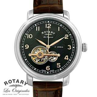 Swiss Made Rotary Jura Les Originales Sapphire Automatic Watch