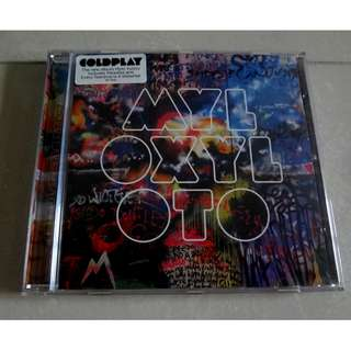 Coldplay CD MYL OXYL OTO