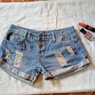 Denim shorts 5