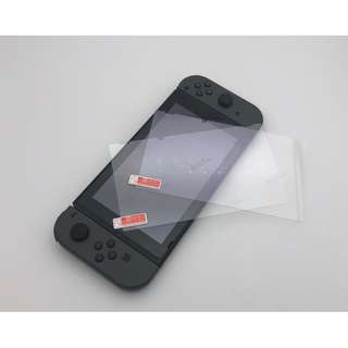 Switch 遊戲機鋼化保護貼套裝 (1塊連清潔套裝)